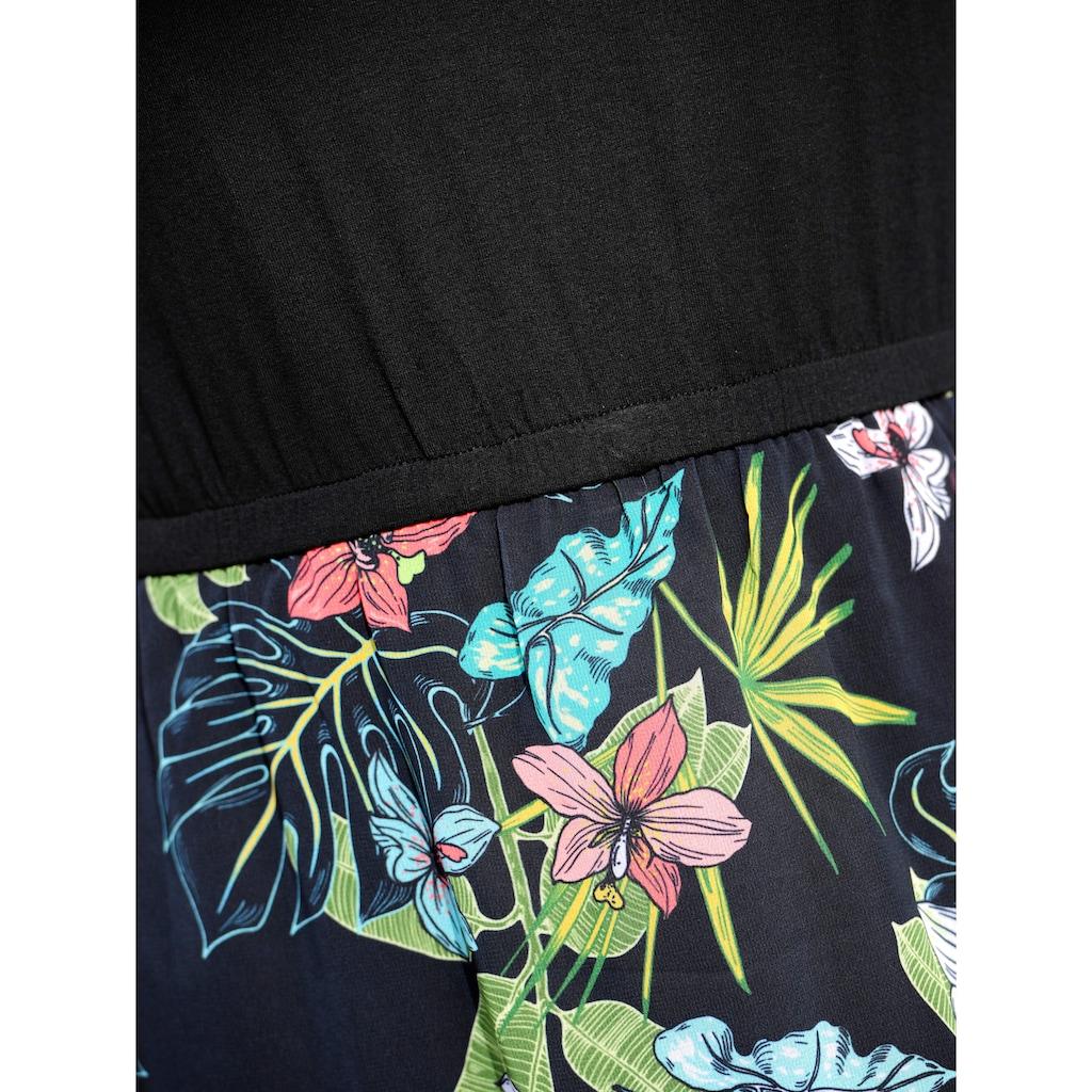 Alba Moda Strandkleid mit Oberteil in Shirtform