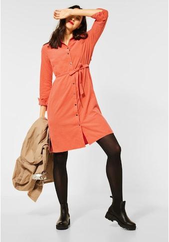 STREET ONE A-Linien-Kleid, in Cord-Optik kaufen