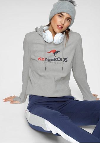 KangaROOS Kapuzensweatshirt, mit sportiven Logo-Prints kaufen