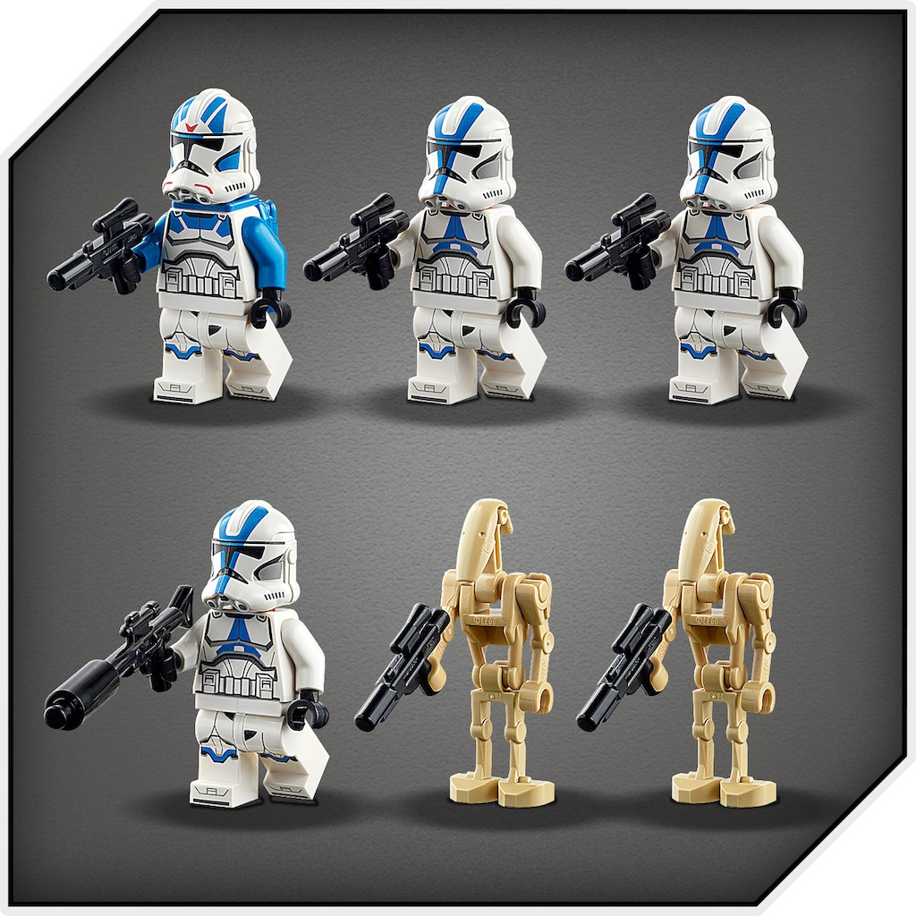 LEGO® Konstruktionsspielsteine »Clone Troopers™ der 501. Legion™ (75280), LEGO® Star Wars™«, (285 St.), Made in Europe