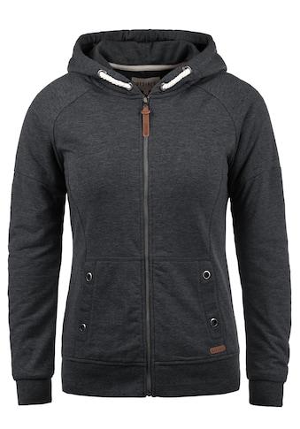DESIRES Kapuzensweatjacke »Mandy«, Sweatshirtjacke mit Ösen- und Kordeldetails kaufen