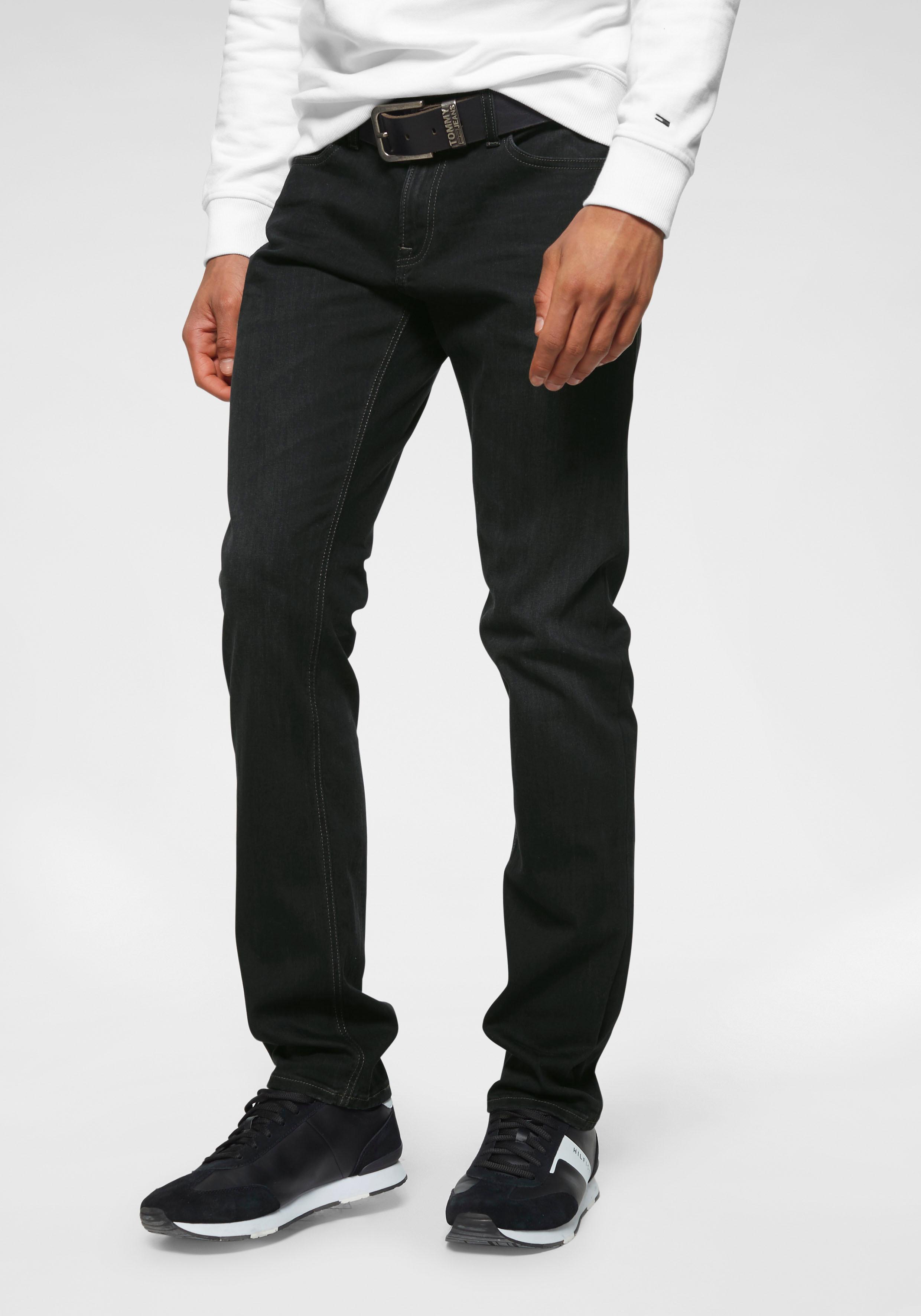 TOMMY JEANS Slim-fit-Jeans SLIM SCANTON CBLTB | Bekleidung > Jeans > Slim Fit Jeans | Schwarz | Jeans | Tommy Jeans
