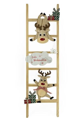 NOOR LIVING Dekoleiter »Frohe Weihnachten«, Höhe 90 cm kaufen
