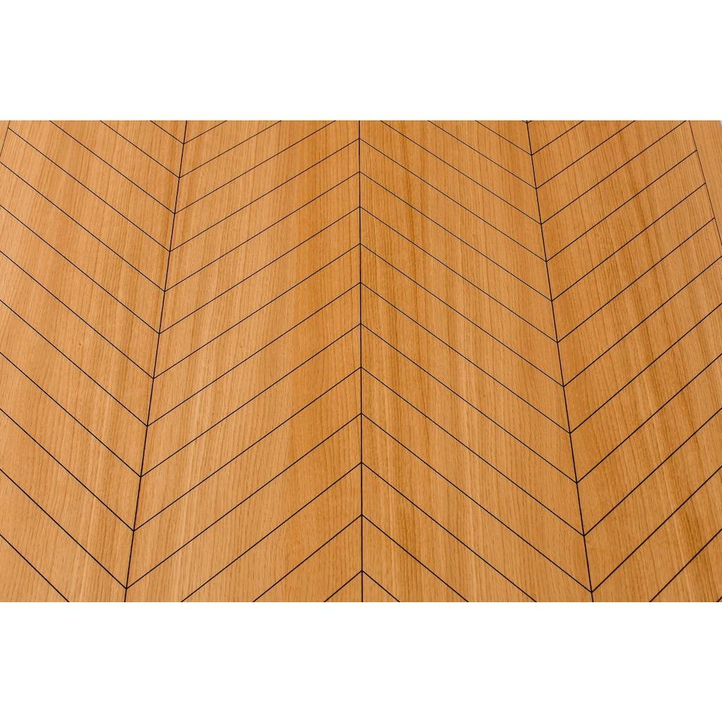 Woodman Esstisch »Camden«, aus massiver Birke, Breite 180 cm