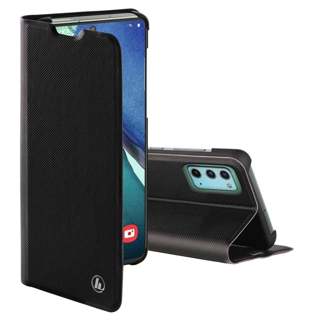 """Hama Handytasche »Smartphone-Booklet Tasche«, """"Slim Pro"""" für Samsung Galaxy Note 20 5G, Schw"""