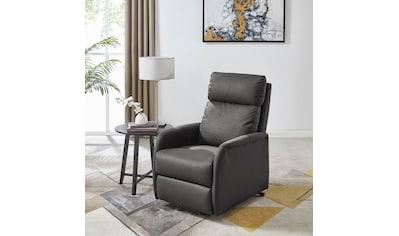 DELAVITA Relaxsessel »Berit«, mit einer praktischen elektrischen Relaxfunktion, Sitz- und Liegeposition möglich, Aufstehhilfe, Sitzhöhe 47 cm kaufen