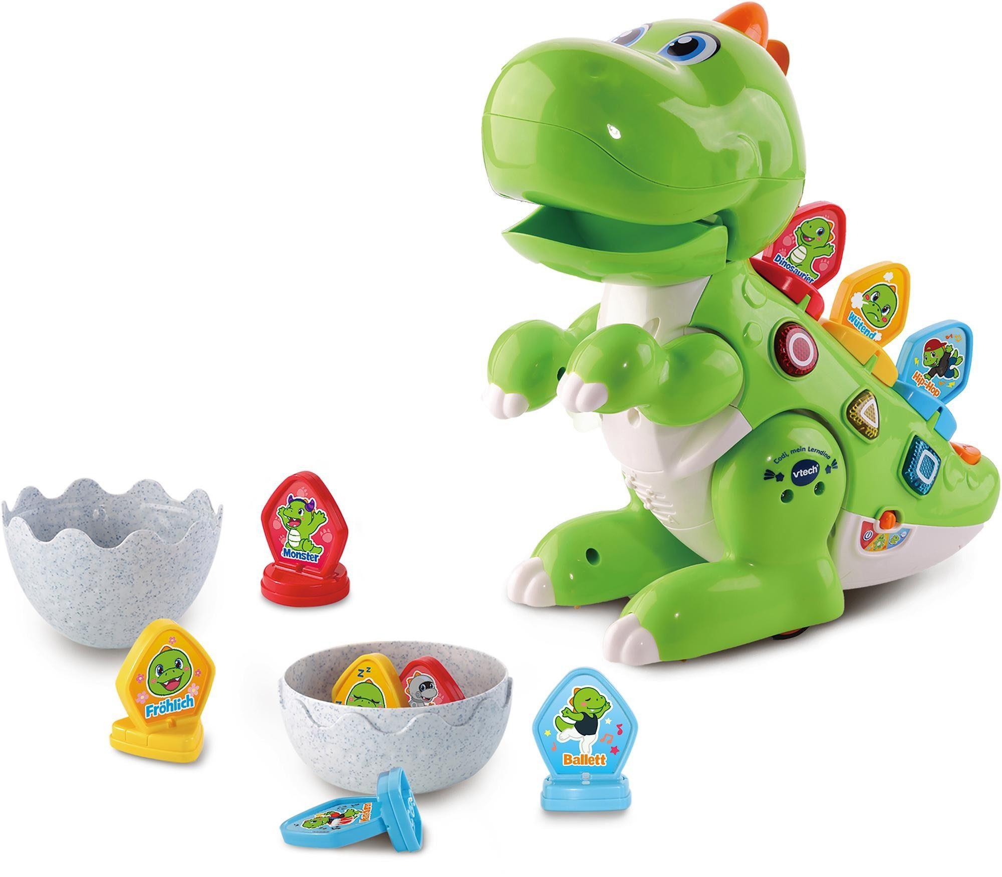 Vtech Lernspielzeug, Codi, mein Lerndino bunt Kinder Lernspiele Lernspielzeug