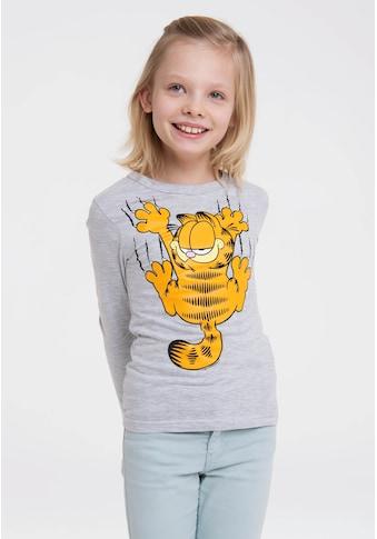 LOGOSHIRT Print-Shirt »Garfield«, mit lässigem Frontprint kaufen