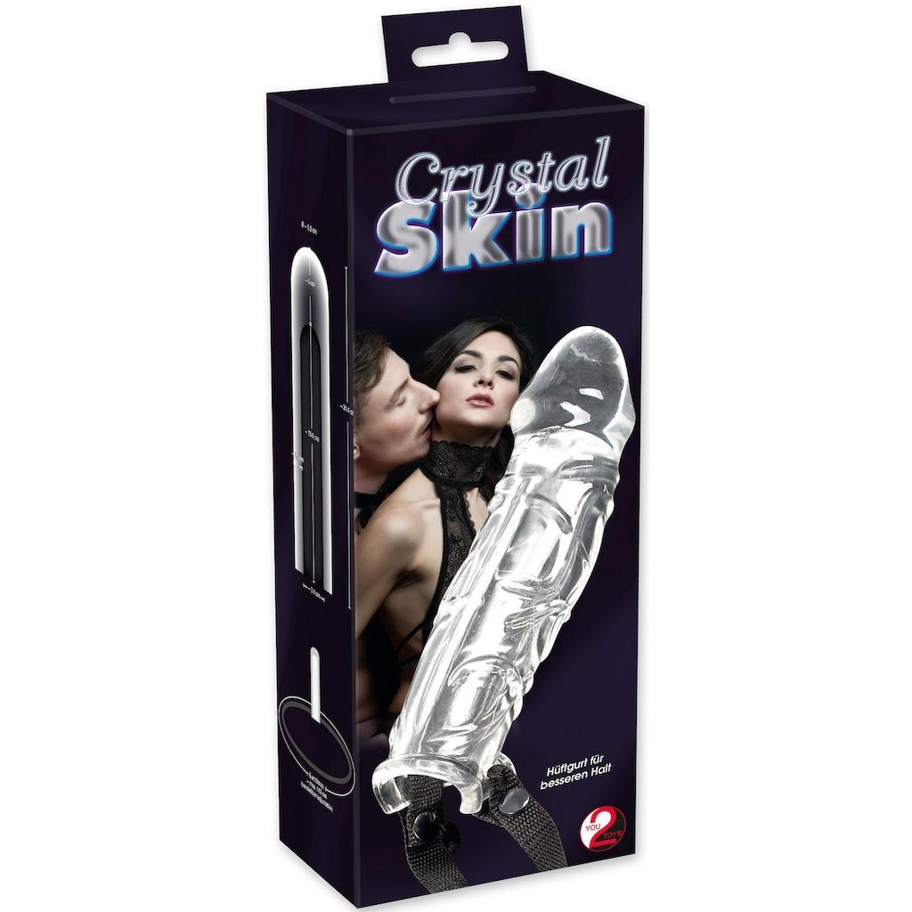 Crystal Clear Penishülle »Crystal Skin«, mit Hüftgurt
