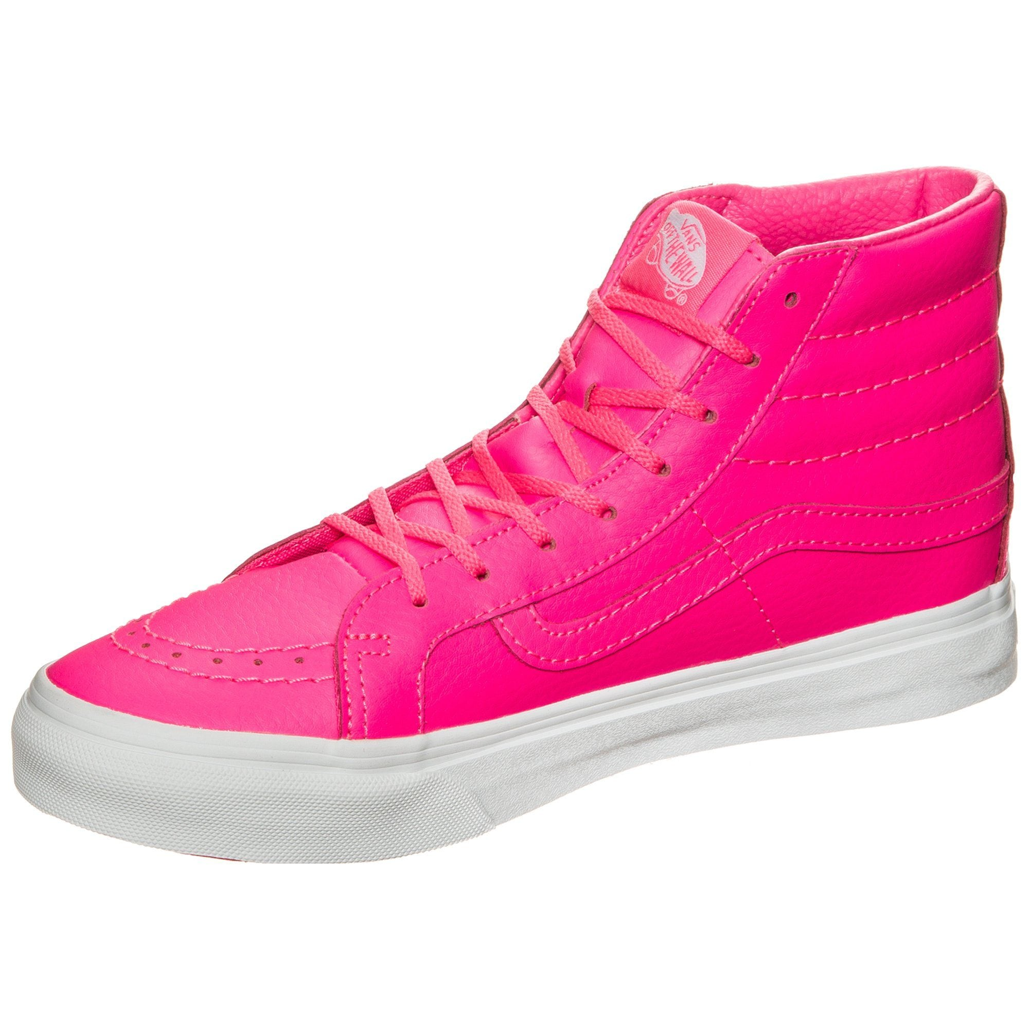 vans sneaker sk8 hi slim neon leather auf rechnung baur. Black Bedroom Furniture Sets. Home Design Ideas