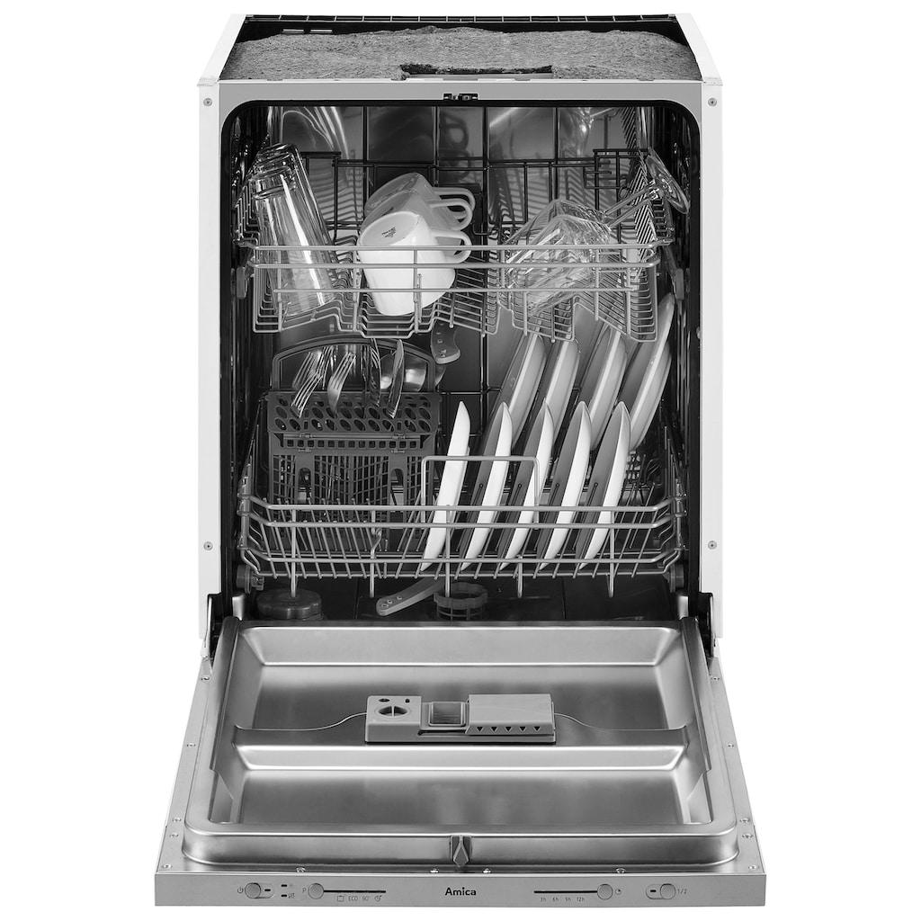 wiho Küchen Küchenzeile »Aachen«, mit E-Geräten, Breite 300 cm