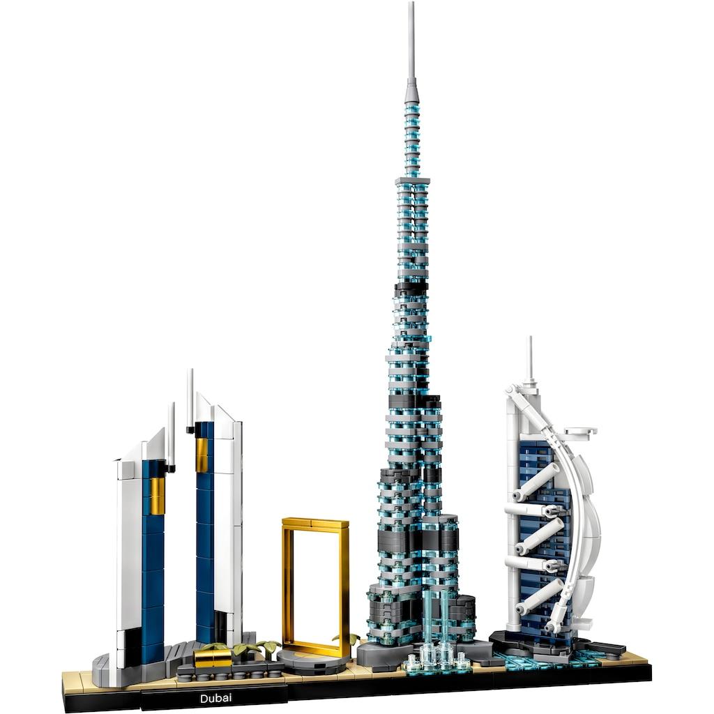 LEGO® Konstruktionsspielsteine »Dubai (21052), LEGO® Architecture«, (740 St.), Made in Europe