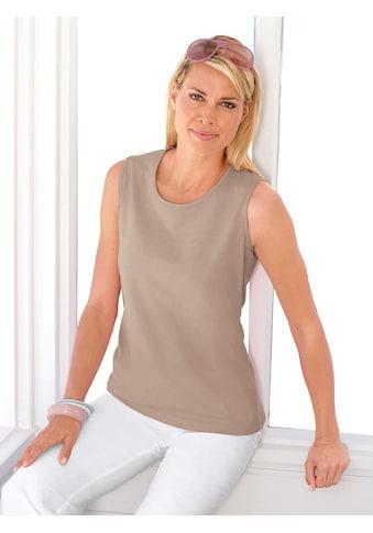 Casual Looks Shirttop aus reiner Baumwolle kaufen