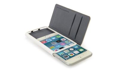 Tucano Booklet - Case aus genarbtem Kunstleder »Leggero für iPhone 6, 6S« kaufen