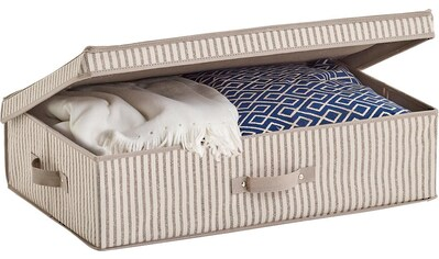 Zeller Present Aufbewahrungsbox »Stripes«, Vlies, beige kaufen