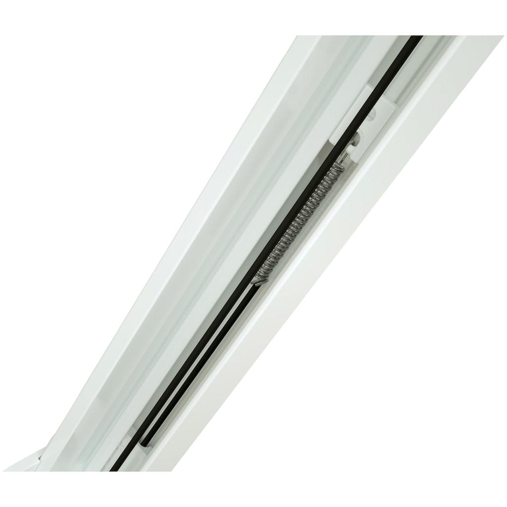 hecht international Insektenschutz-Dachfenster-Rollo, weiß/anthrazit, BxH: 80x160 cm
