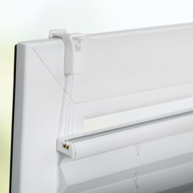 Plissee, »Farbverlauf«, K-HOME, Lichtschutz, ohne Bohren, verspannt