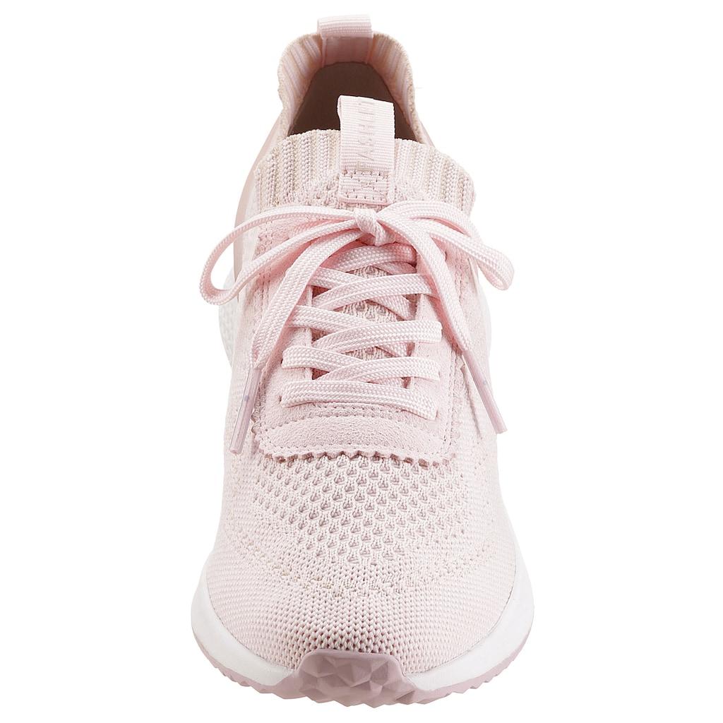 Tamaris Slip-On Sneaker »Fashletics«, in modischer Strick-Optik