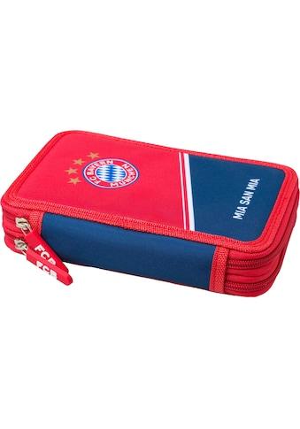 FC Bayern Federmäppchen, inkl. Schreibutensilien kaufen