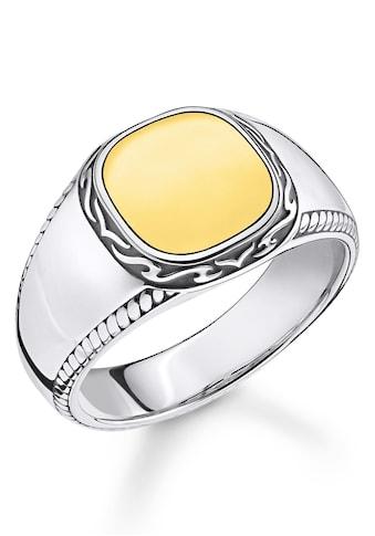 THOMAS SABO Fingerring »Tiger Muster gold, TR2292-966-39-52, 54, 56, 58, 60, 62, 64,... kaufen