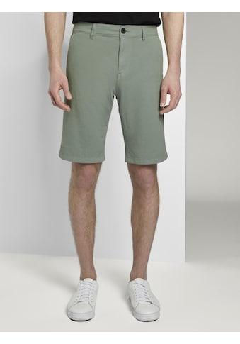 TOM TAILOR Denim Shorts »Slim Chino Shorts mit Schlüsselanhänger« kaufen