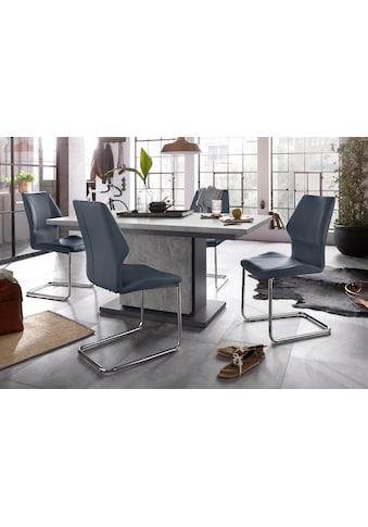Homexperts Essgruppe »Bärbel/Amelie«, Breite 140 cm mit Auszug und 4 Stühle kaufen