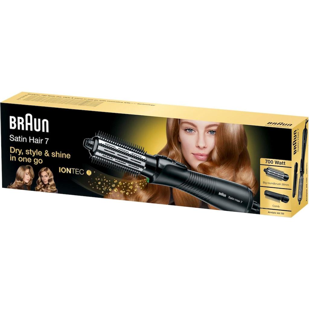 Braun Multihaarstyler »AS 720«, 2 Aufsätze}, Big Brush and Comb