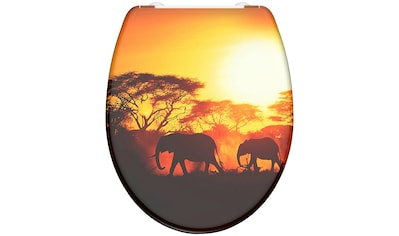 Schütte WC-Sitz »Africa«, mit Absenkautomatik kaufen