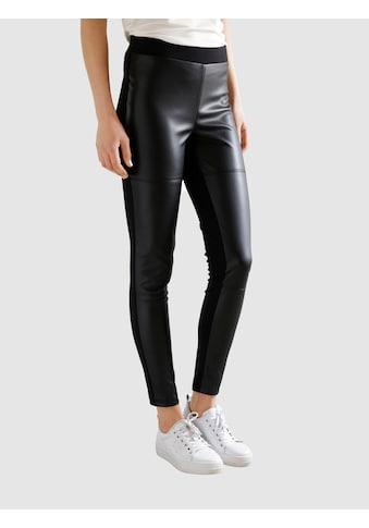 Dress In Leggings, (1 tlg.), mit Kunstleder kaufen