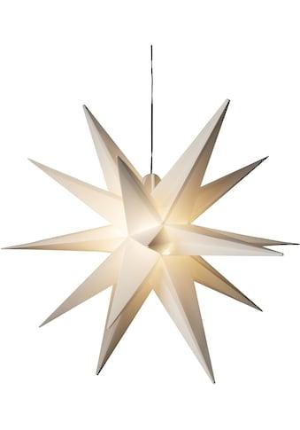 KONSTSMIDE Dekolicht, LED-Modul, 1 St., Warmweiß, Weißer 3-D Kunststoffstern, inkl.... kaufen