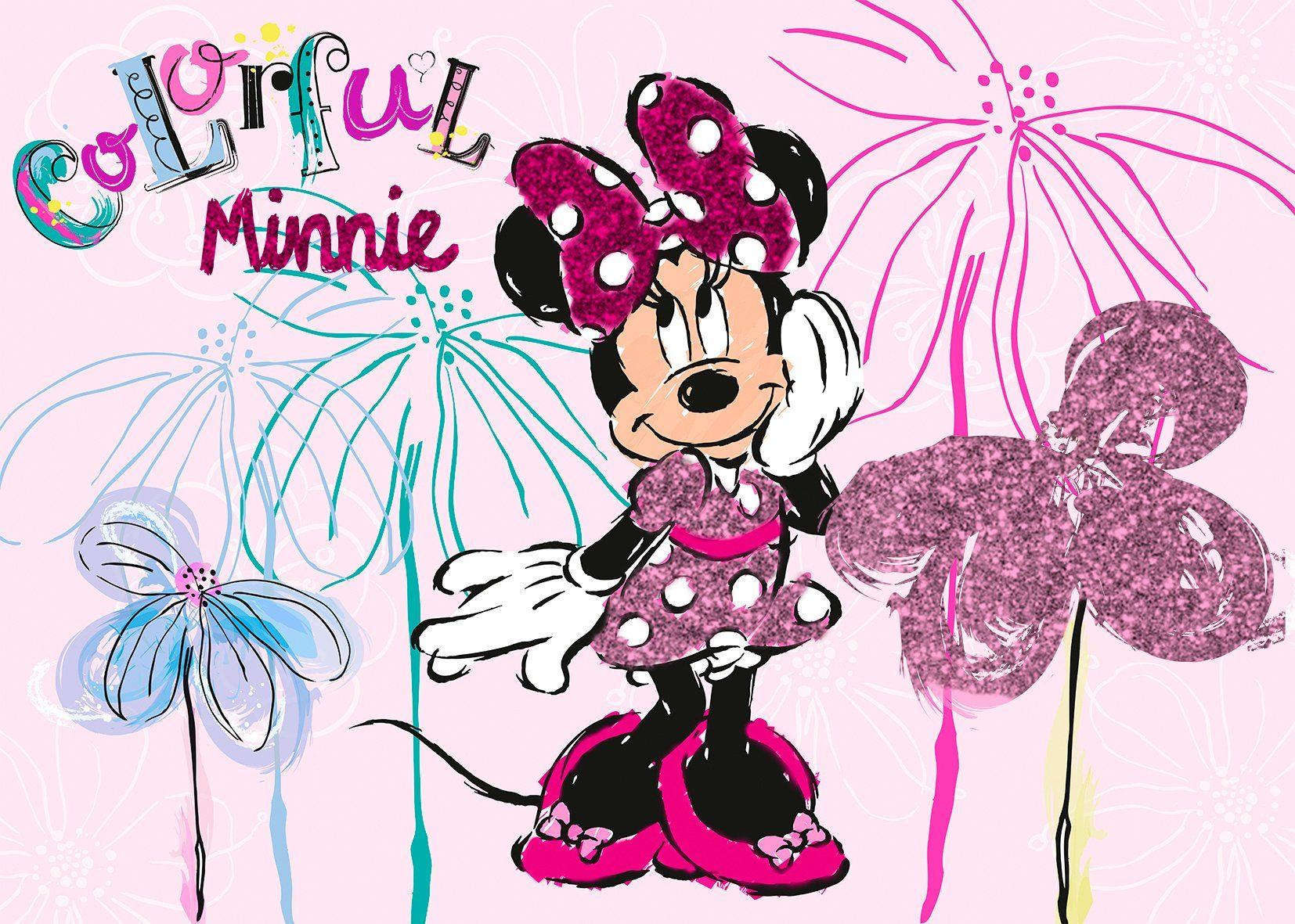 Disney Leinwandbild rosa Leinwandbilder Bilder Bilderrahmen Wohnaccessoires 12741630