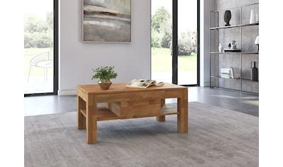 Woltra Couchtisch »Namur«, Massivholz, mit Schublade kaufen