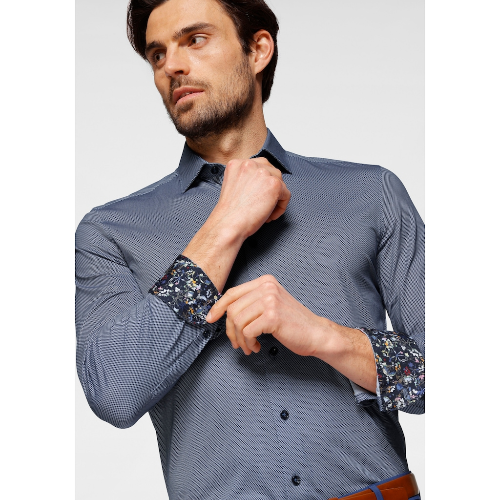OLYMP Businesshemd »Level Five body fit«, Dynamic Flex Jersey