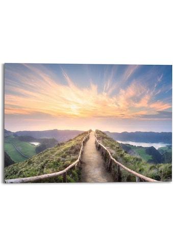 Reinders! Wandbild »Morgenröte Berge - Sonnenaufgang - Natur«, (1 St.) kaufen