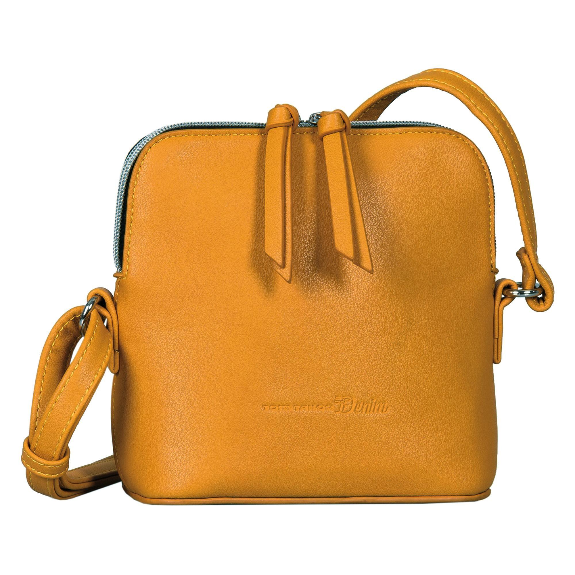 TOM TAILOR Denim Mini Bag Freia | Taschen > Handtaschen > Abendtaschen | Gelb | Tom Tailor Denim