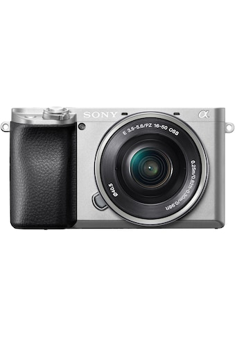 Sony Systemkamera »Alpha 6100 Kit mit SELP1650«, SELP1650, NFC-Bluetooth-WLAN (Wi-Fi) kaufen