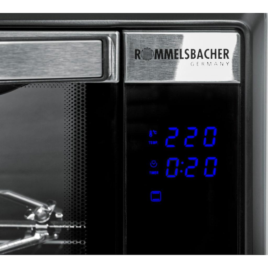 Rommelsbacher Minibackofen »Elektronik Back & Grill Ofen BGE 1580/E«, Grill, 1580 W