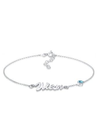 Elli Armband »Oktoberfest Wiesn Kristalle 925 Silber« kaufen