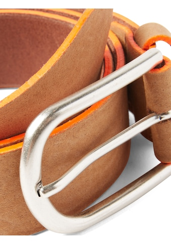 TOM TAILOR Ledergürtel »Ledergürtel mit Neon - Details« kaufen