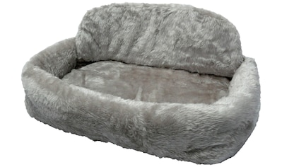 SILVIO design Tierbett »de Luxe mit Kissen Gr. 1«, BxLxH: 55x35x15 cm, grau kaufen