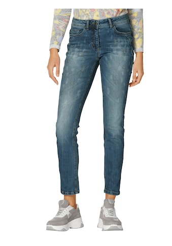 Amy Vermont 5-Pocket-Jeans, mit Animal-Druck kaufen