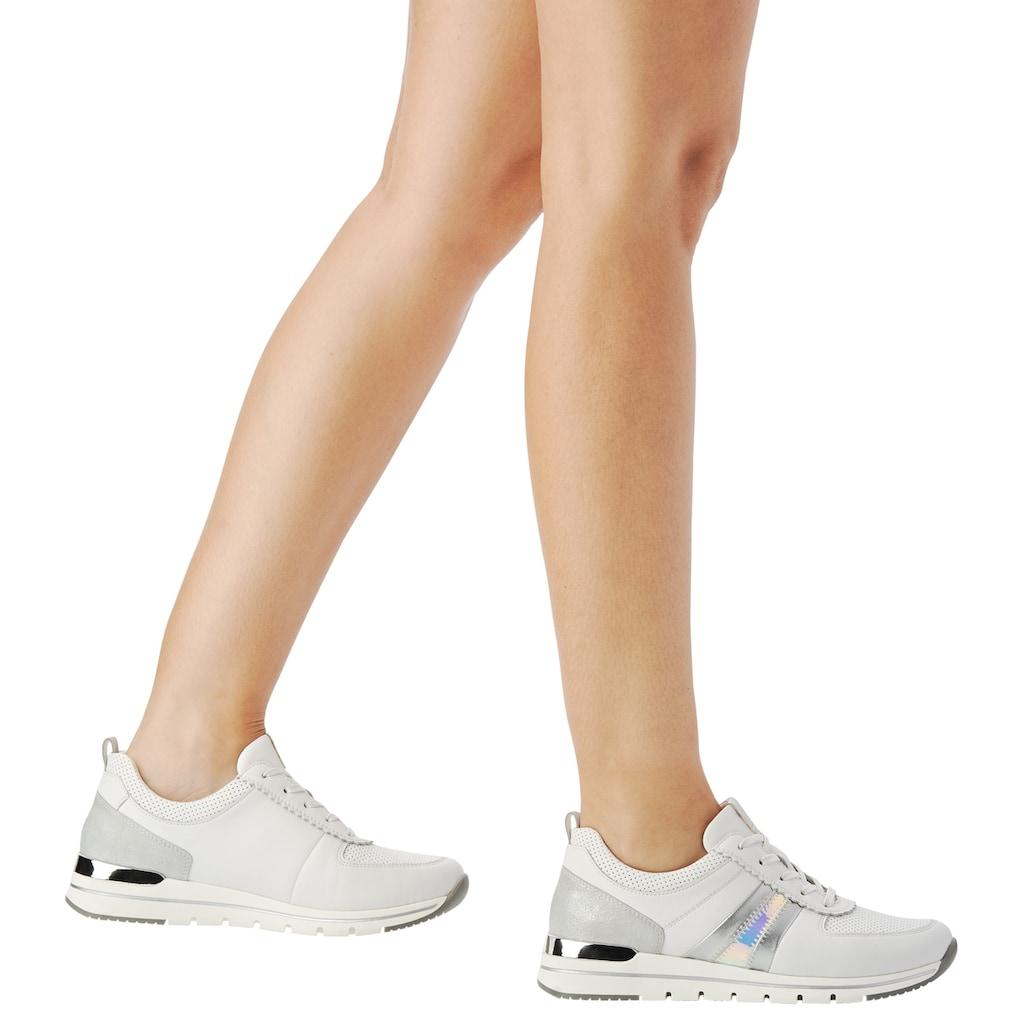 Remonte Sneaker, mit Metallic-Details