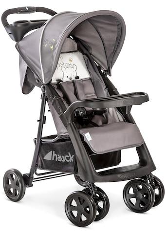 Hauck Kinder-Buggy »Shopper Neo II, Pooh Cuddles«, mit schwenk- und feststellbaren Vorderrädern kaufen