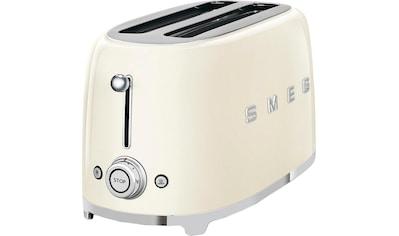 Smeg Toaster »TSF02CREU«, 2 lange Schlitze, für 2 Scheiben, 1500 W kaufen