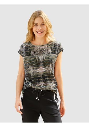 Laura Kent Print-Shirt, mit Tropical Druck kaufen