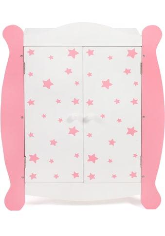 """CHIC2000 Puppenkleiderschrank """"Stars pink"""" kaufen"""