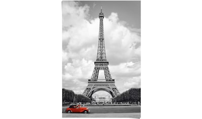 Reinders! Poster »Paris Rotes Auto«, (1 St.) kaufen