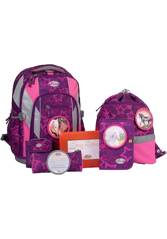 SCHOOL - MOOD® Schulranzen »Loop Air, Lea« (Set, 7 tlg.) kaufen