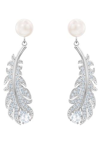 Swarovski Paar Ohrstecker »NICE PEARL, 5496052«, mit Swarovski® Kristallen und Swarovski® Perlen kaufen