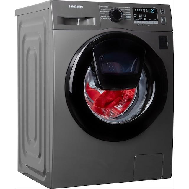 Samsung Waschmaschine »WW7ET4543AX/EG«, WW4500T INOX, WW7ET4543AX/EG, 7 kg, 1400 U/min, AddWash